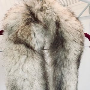 Champagne Mink Fur Collar